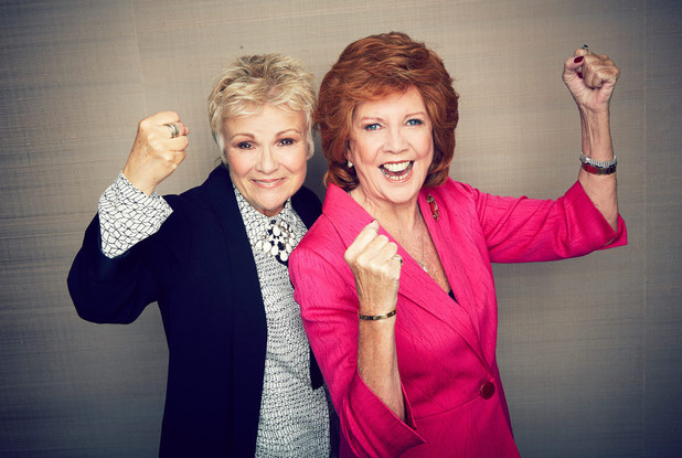 Julie Walters and Cilla Black