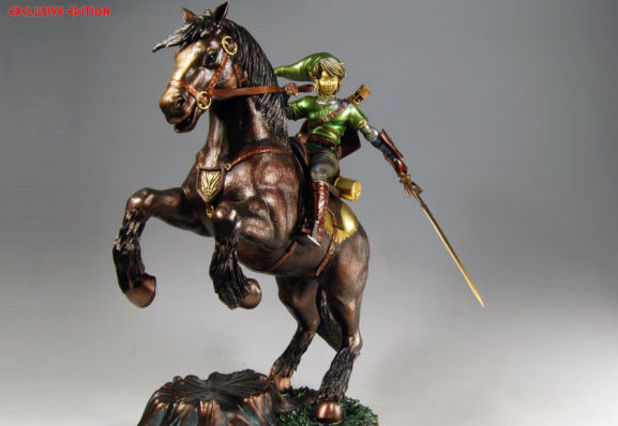 Nintendo Link on Epona collectible