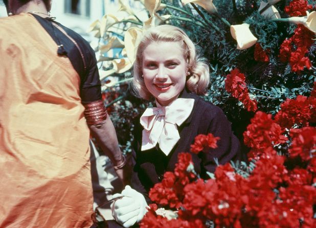 American actress Grace Kelly (1929 - 1982) at the Cannes Film Festival in France, before her marriage to Prince Rainier III of Monaco, circa 1955. (Photo by Hulton Archive/Getty Images)