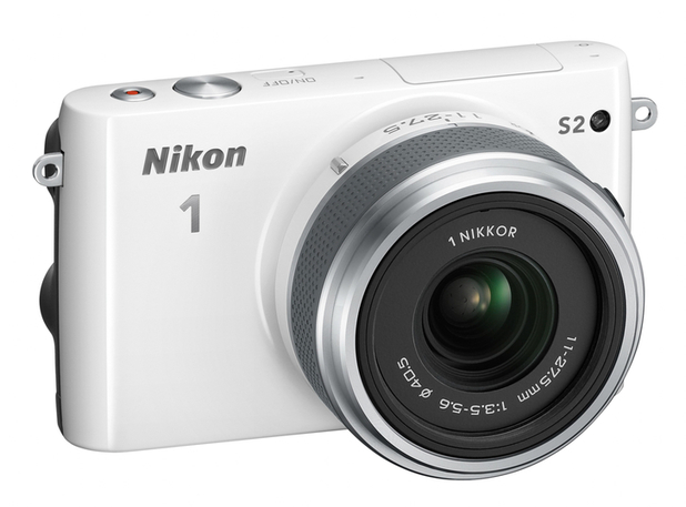 The Nikon 1 S2 compact system camera