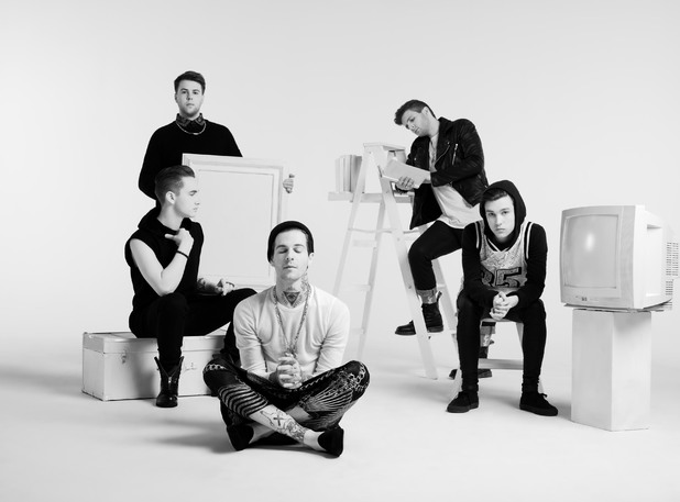The Neighbourhood press shot 2014.