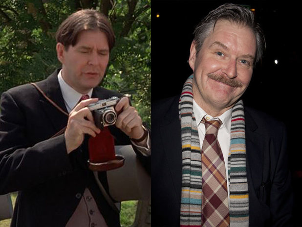The cast of Four Weddings and a Funeral then and now: James Fleet