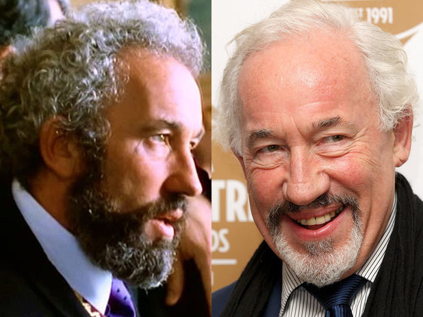 The cast of Four Weddings and a Funeral then and now: Simon Callow
