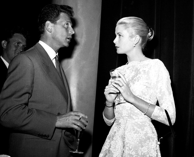 8th Cannes Film Festival, Cannes, France - May 1955Jean-Pierre Aumont and Grace Kelly May 1955