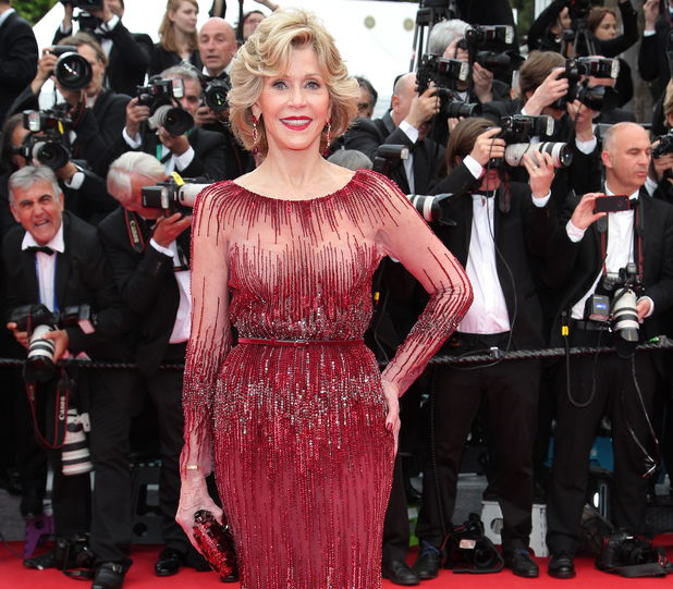 CANNES, FRANCE - MAY 14: Jane Fonda attends the Opening ceremony and the 'Grace of Monaco' Premiere during the 67th Annual Cannes Film Festival on May 14, 2014 in Cannes, France. (Photo by Gisela Schober/Getty Images)