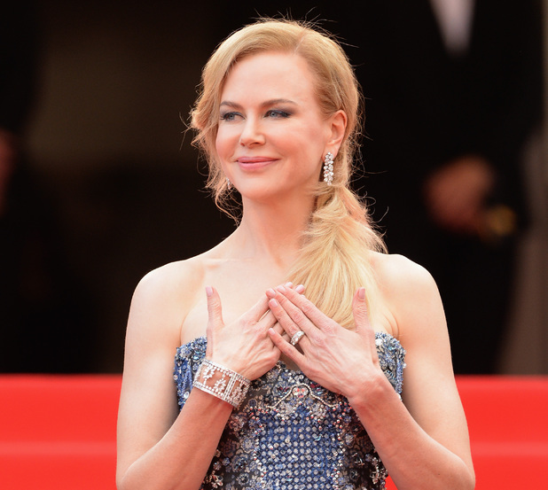 CANNES, FRANCE - MAY 14: Nicole Kidman attends the Opening ceremony and the 'Grace of Monaco' Premiere during the 67th Annual Cannes Film Festival on May 14, 2014 in Cannes, France. (Photo by Gisela Schober/Getty Images)