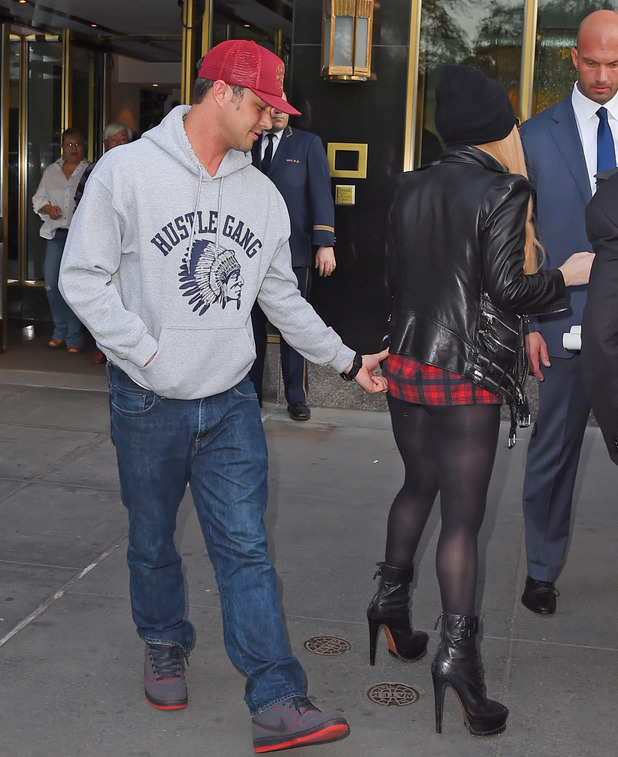 Lady Gaga out and about, New York, America - 13 May 2014 Taylor Kinney and Lady Gaga 13 May 2014