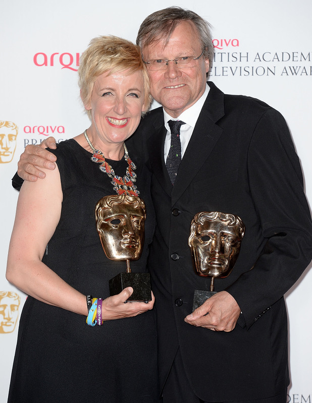 BAFTA Television awards 2014: David Neilson and Julie Hesmondhalgh