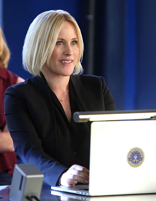 Patricia Arquette as Special Agent Avery Ryan in CSI: Cyber