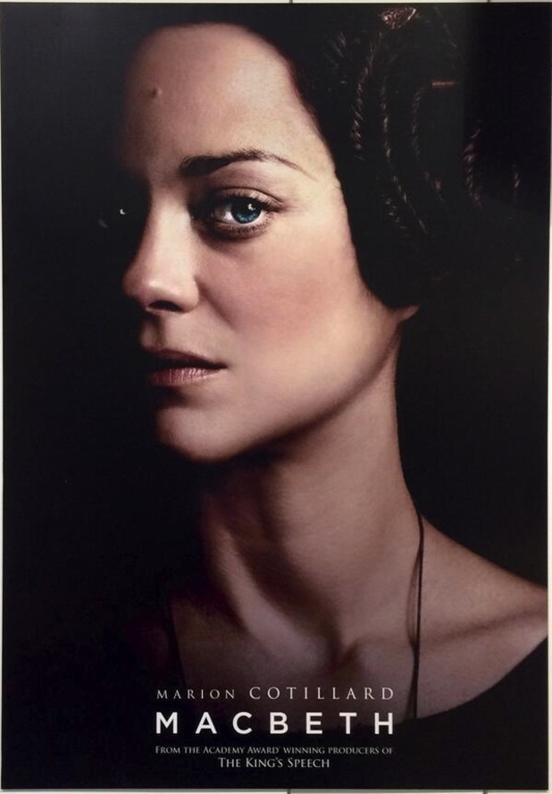 Marion Cotillard's Macbeth poster