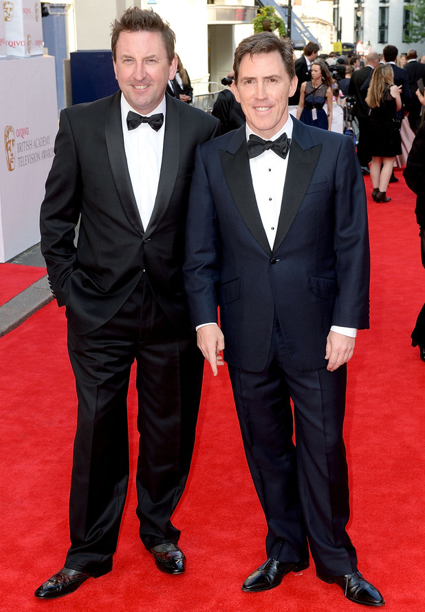 BAFTA Television awards 2014: Rob Brydon and Lee Mack
