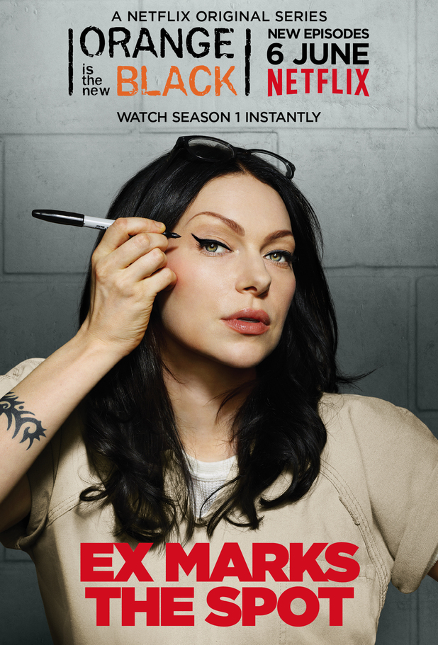 Laura Prepon as Alex in Orange Is the New Black season two character poster