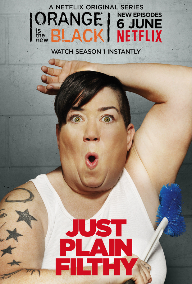 Lea DeLaria as Big Boo in Orange Is the New Black season two character poster