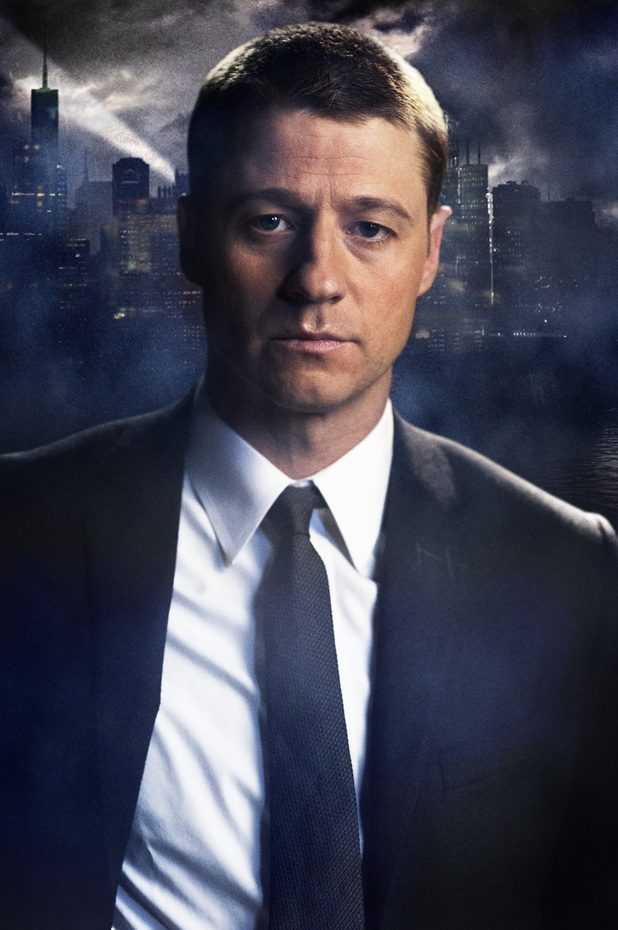 Ben McKenzie as Detective James Gordon in Gotham