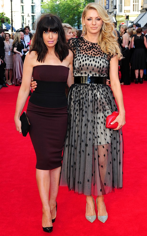 BAFTA Television awards 2014: Tess Daly and Claudia Winkleman