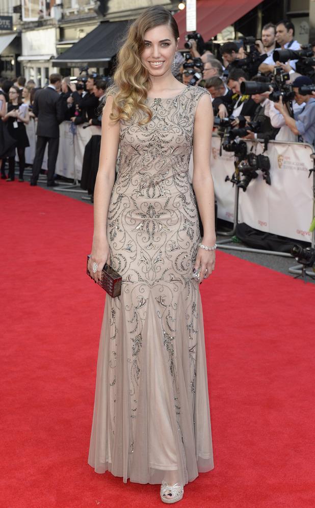 BAFTA Television awards 2014: Amber Le Bon
