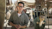 JJ Abrams announced Force for Chonge from the Abu Dhabi set from Star Wars Episode VII. Omaze.com/StarWars