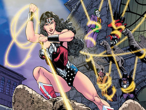 Sensation Comics featuring Wonder Woman