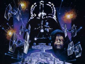 Drew Struzan's poster for Star Wars Episode V: The Empire Strikes Back