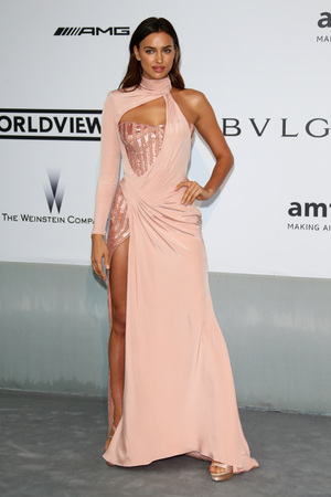 CAP D'ANTIBES, FRANCE - MAY 22: Irina Shayk attends amfAR's 21st Cinema Against AIDS Gala Presented By WORLDVIEW, BOLD FILMS, And BVLGARI at Hotel du Cap-Eden-Roc on May 22, 2014 in Cap d'Antibes, France. (Photo by Vittorio Zunino/amfAR14/WireImage)