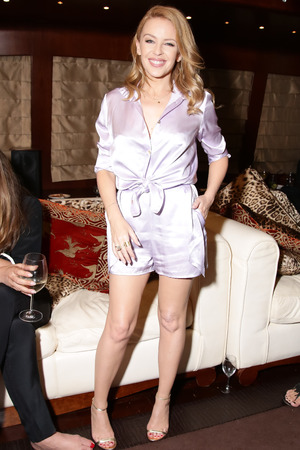 Roberto and Eva Cavalli host dinner onboard the 'RC' yacht during the Cannes Film Festival, France - 21 May 2014 Kylie Minogue 21 May 2014