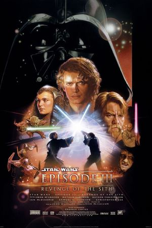 Drew Struzan's poster for Star Wars Episode III: Revenge of The Sith