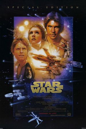 Drew Struzan's poster for Star Wars Episode IV: A New Hope