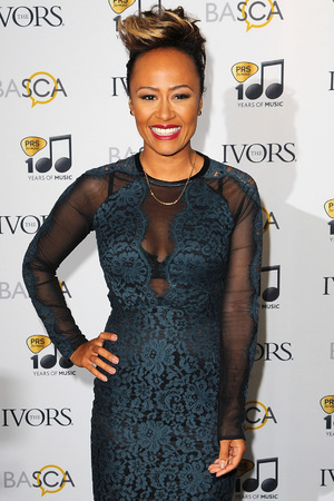 Emeli Sande attends The Ivor Novello Awards at The Grosvenor House Hotel, 2014