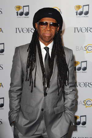 Nile Rodgers attends The Ivor Novello Awards at The Grosvenor House Hotel, 2014