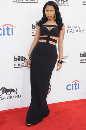 LAS VEGAS, NV - MAY 18: Singer Nicki Minaj arrives at the 2014 Billboard Music Awards at the MGM Grand Hotel and Casino on May 18, 2014 in Las Vegas, Nevada. (Photo by Jon Kopaloff/FilmMagic)
