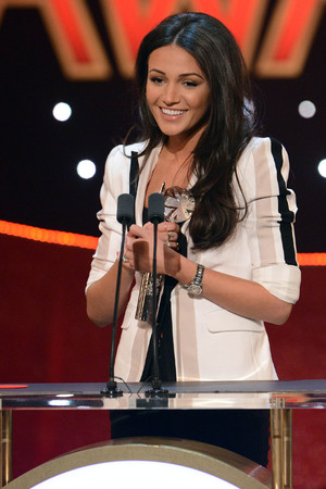 British Soap Awards Michelle Keegan wins Sexiest Female