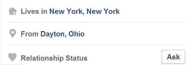 polygamy facebook relationship status ask