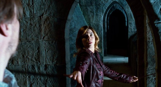 Natalia Tena as Nymphadora Tonks in Harry Potter and the Deathly Hallows: Part 2