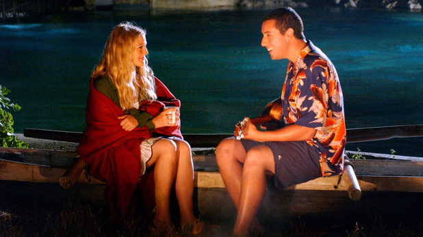 Adam Sandler, Drew Barrymore in 50 Frist Dates