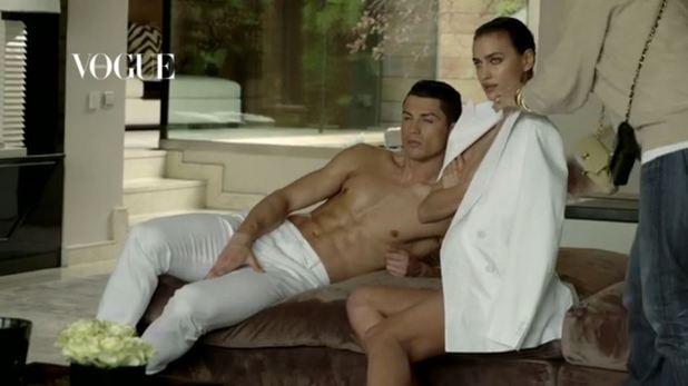 Cristiano Ronaldo & Irina Shayk photoshoot for Vogue Spain