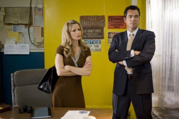 Kyra Sedgwick and Jon Tenney in The Closer