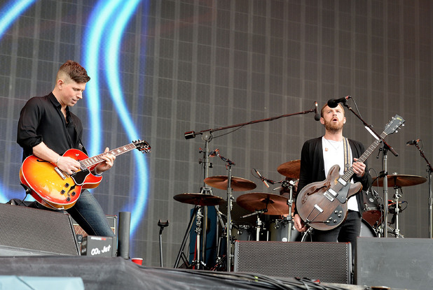 Radio 1's Big Weekend - Day 3 Nathan Followill and Caleb Followill