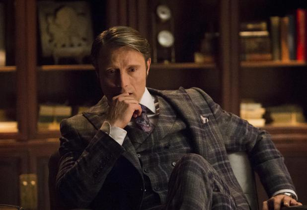 Mads Mikkelsen in Hannibal season 2 finale