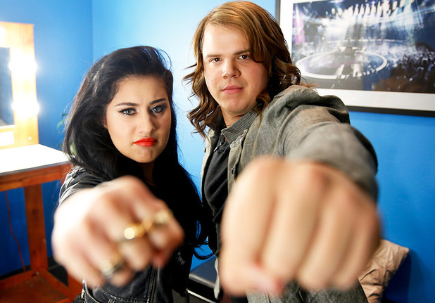 American Idol Top 2: Jena Irene and Caleb Johnson