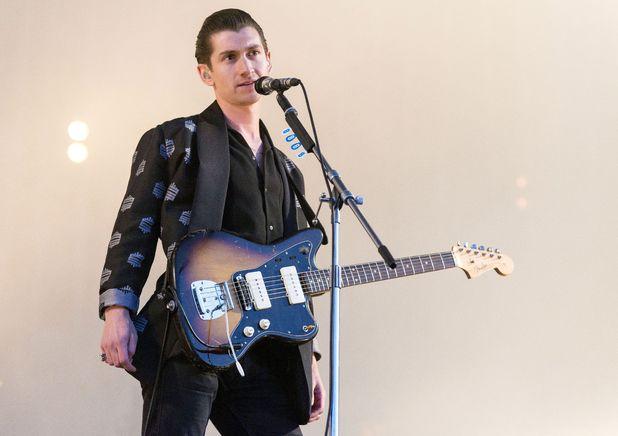 Arctic Monkeys in concert in Finsbury Park