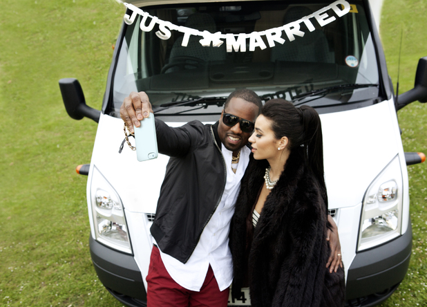 Kanye and Kim's honeymoon spoof,