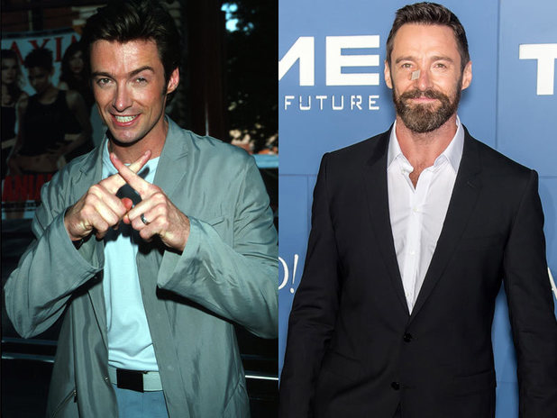 The cast of X-Men then and now: Hugh Jackman