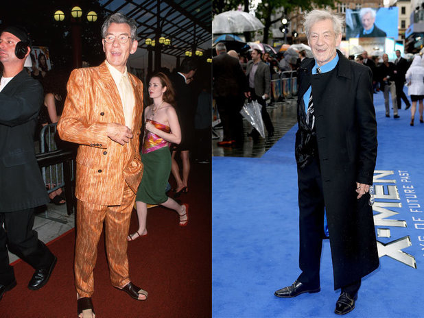 The cast of X-Men then and now: Ian McKellen