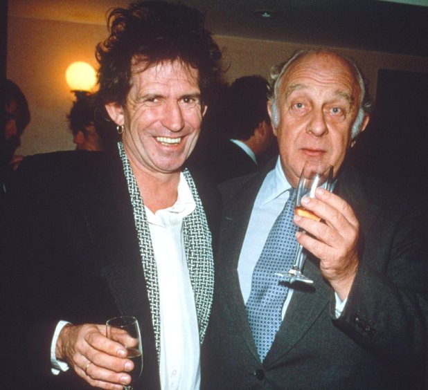 Keith Richards & Prince Rupert Loewenstein