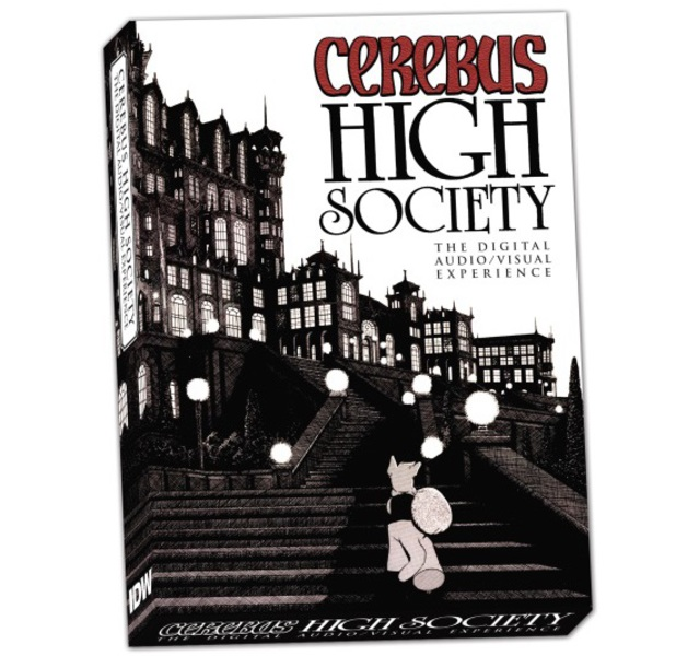 Cerebus: High Society Digital Audio/Visual Experience digital edition