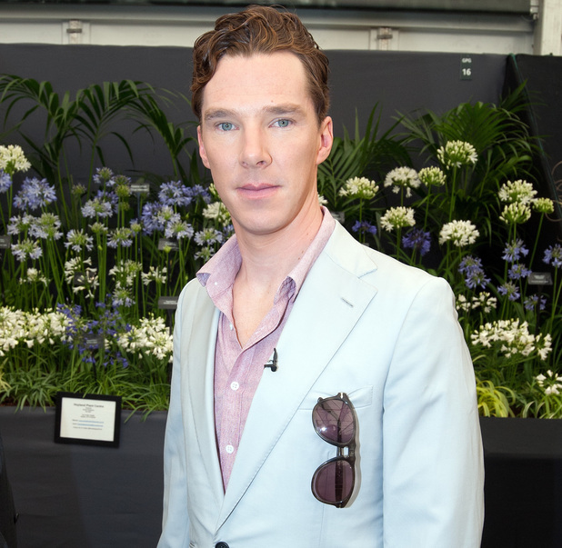 RHS Chelsea Flower Show, London, Britain - 19 May 2014 Benedict Cumberbatch