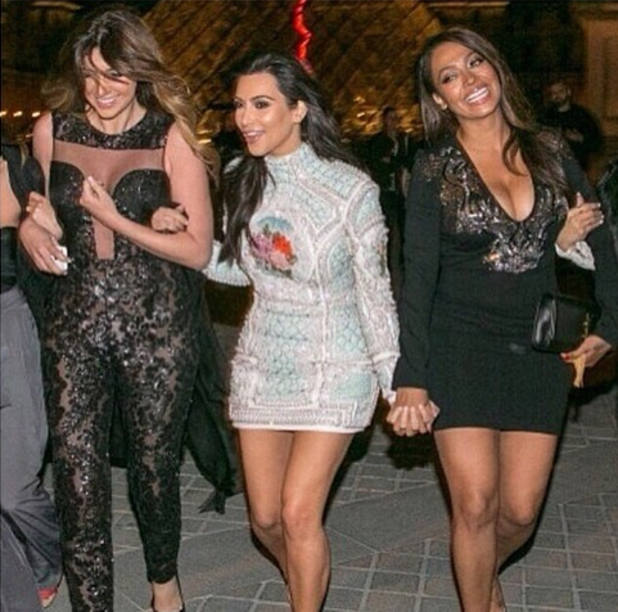 Kim Kardashian Instagram picture: In Paris ahead of wedding
