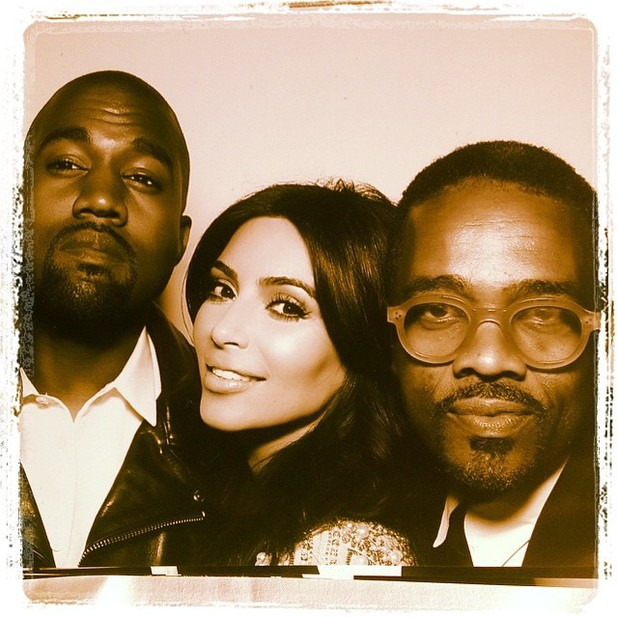 Kim Kardashian and Kayne West wedding Photo Booth pictures