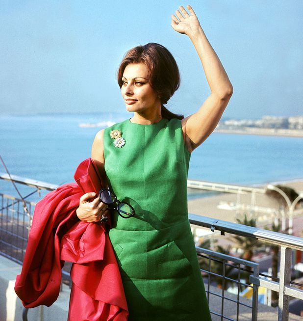 CANNES, FRANCE: File picture shot during the Cannes Film Festival 1964 of Italian actress Sophia Loren. (Photo credit should read AFP/AFP/Getty Images)