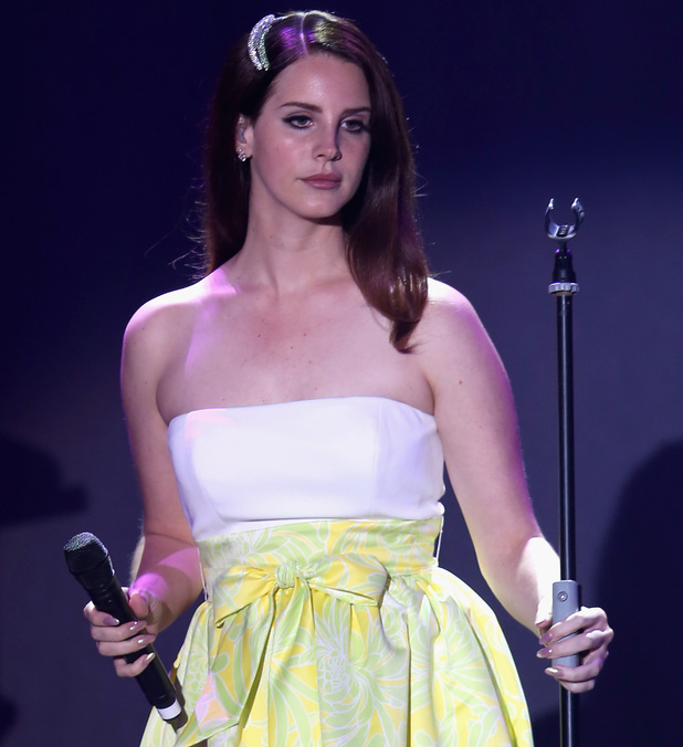CAP D'ANTIBES, FRANCE - MAY 22: Lana Del Rey amfAR's 21st Cinema Against AIDS Gala Presented By WORLDVIEW, BOLD FILMS, And BVLGARI at Hotel du Cap-Eden-Roc on May 22, 2014 in Cap d'Antibes, France. (Photo by Pascal Le Segretain/amfAR14/WireImage)
